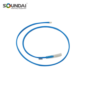 Free Sample Superior Quality PE Tube Blue Tip Pig Artificial Insemination Semen Catheter