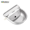 High Quality 2.5L Save Water Animal Cow Stainless Steel Drinking Drinker Bowl With High Pressure Floating Valve