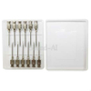 11mm 14mm 18mm 20mm Re-Usable Use Tri-Bevelled Aluminum Stainless Needles Copper Hub Needles
