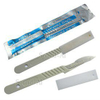 Stainless Steel Surgical Blades With Plastic Handle