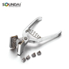 Carbon Steel Ear Tattooing Pliers Earmarking Animal Veterinary Tool