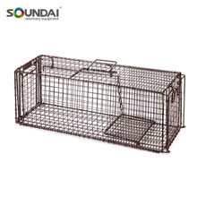 Humane Animal Trap with Gravity Drop Door
