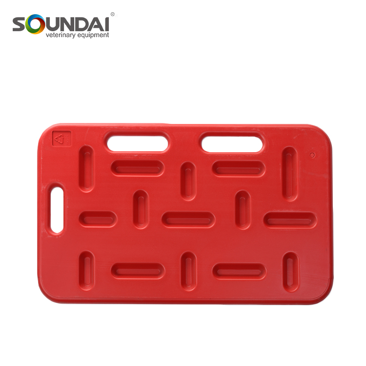 High Quality Livestock Red Farm Equipment Sorting Panel HDPE Pig Sorting Panel